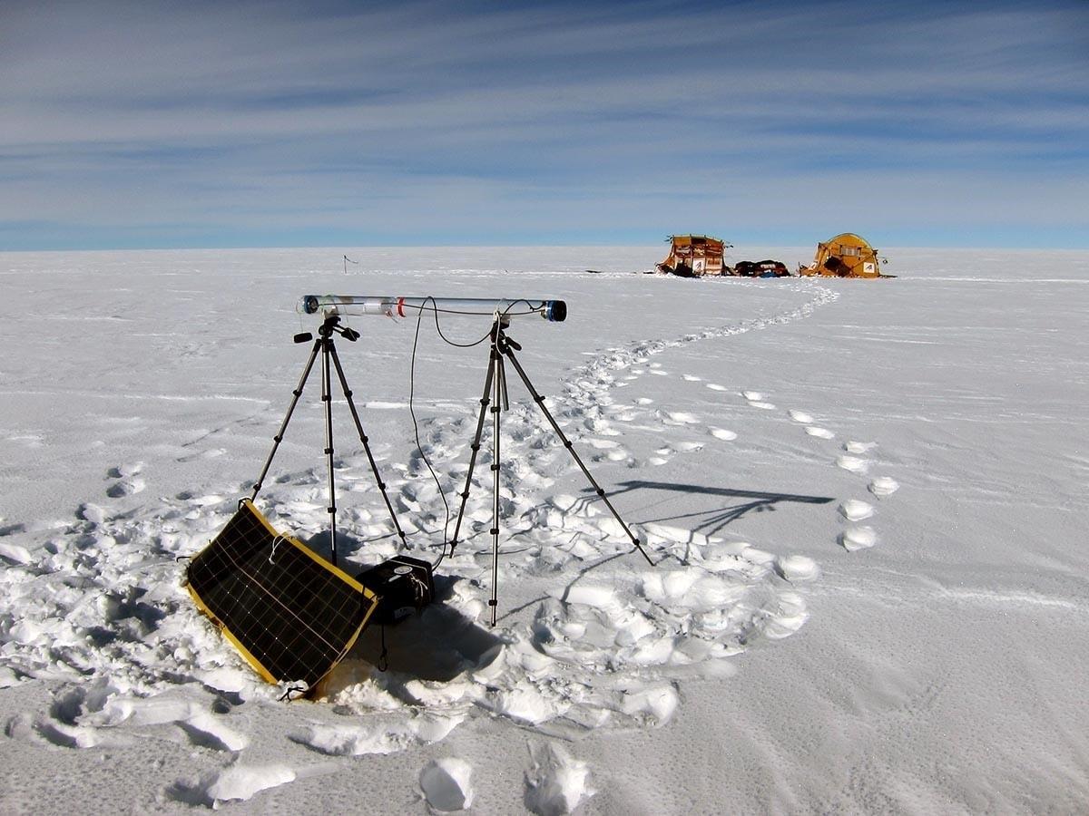 Proyecto Trineo de Viento en la Antártida
