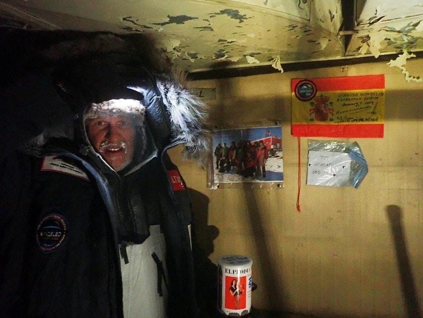 Base del Proyecto Trineo de Viento en la Antártida
