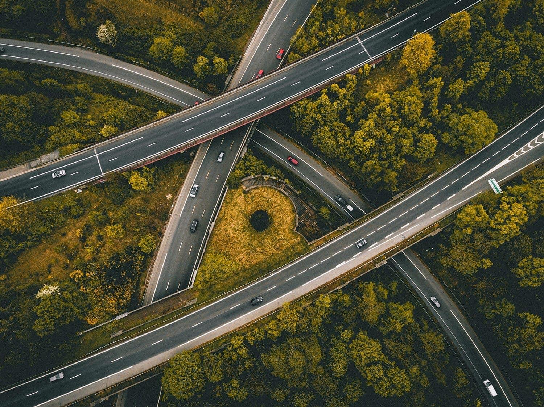 Autopistas interconectadas