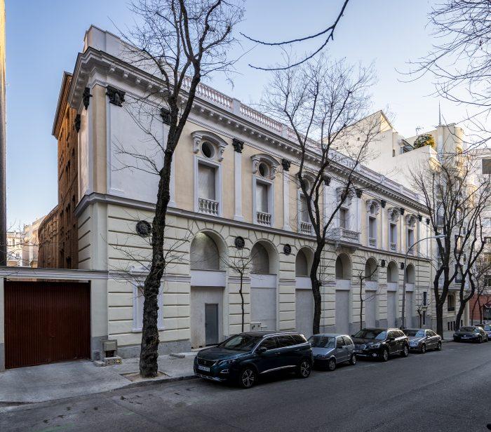 fachada fronton betijai madrid