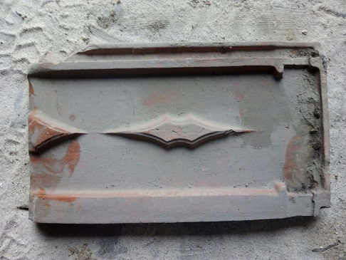 Betijai old roof tile
