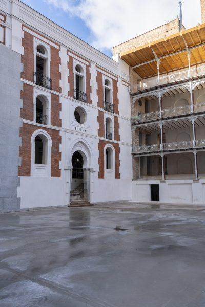 interior rehabilitado fronton betijai madrid