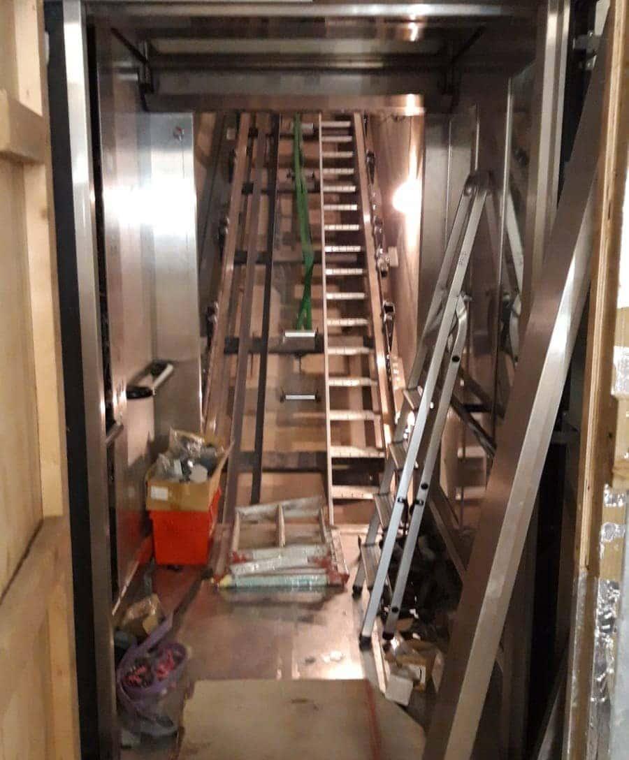 elevator's machinery