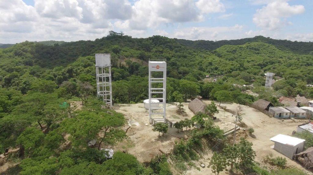 Infraestructuras de canalización de agua de Ferrovial en colaboración con Ayuda en Acción, ONG