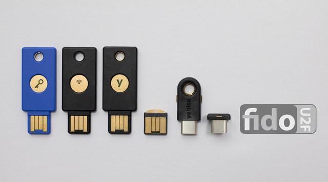 Image of digital keys, similar to a usb