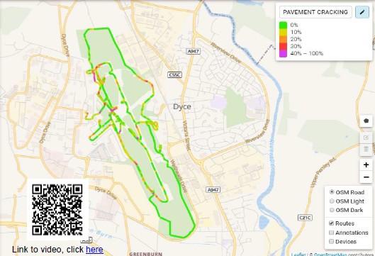 Herramienta GPS de identificación de errores