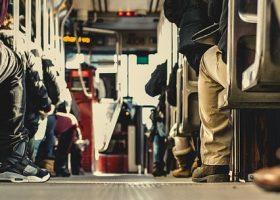 Imagen del interior de un autobús