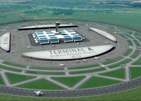 pista de aterrizaje circular