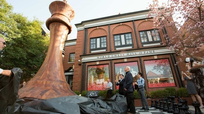 The World Chess Hall of Fame in Saint Louis.