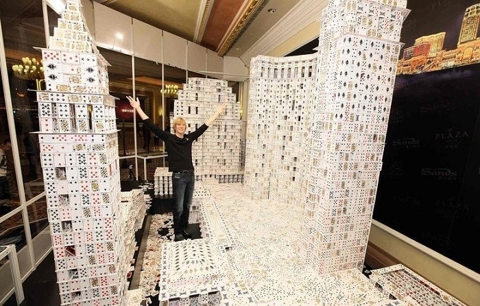 The biggest house of cards