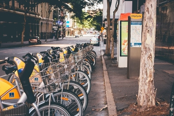 electric urban bikes