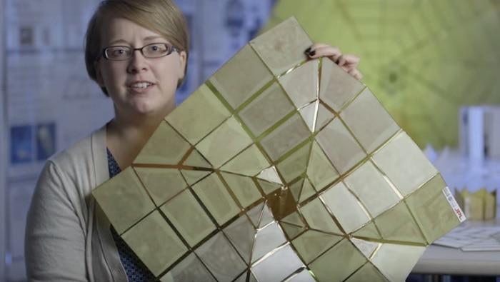 Trabajo de Origami de la