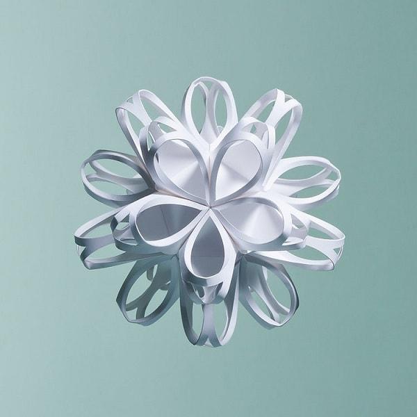 Estructura de Origami de Matthew Shlian