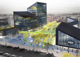 Metro Madrid's new office building